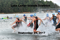 Lake Lanier Triathlon 2017